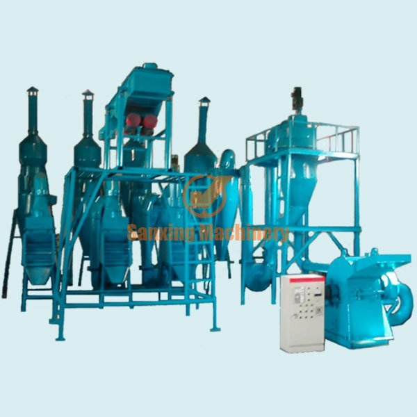 Circuit boards recycling equipment(wind pressure)