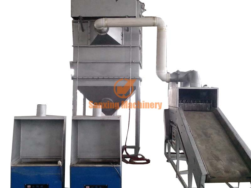 Physical method electronic components capacitor dismantling machine