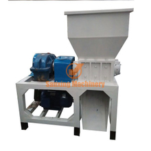 Double shaft shredder