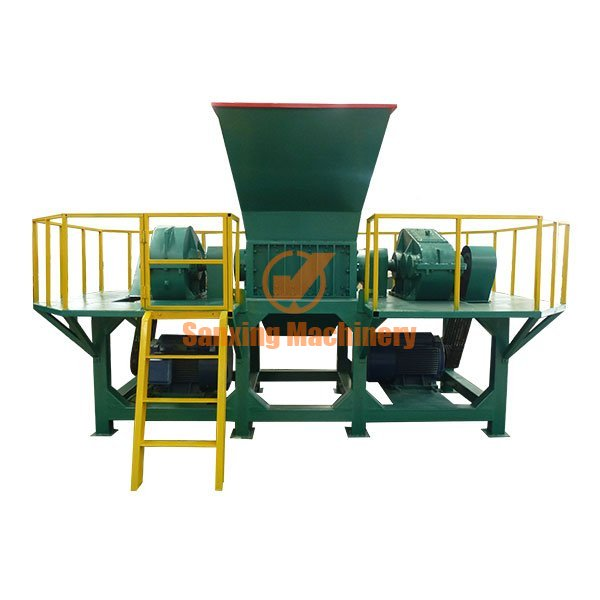 Waste appliance shell crusher machine